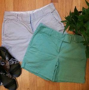 "LOFT 2x Women's Riviera Shorts Size 2 6"" Inseam"